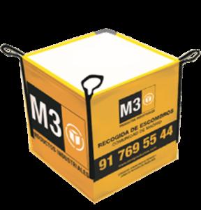 Saco de Escombros M3 Amarillo Comunidad de Madrid